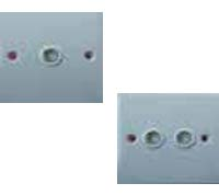 B8511/B8512 1 & 2 GANG TV SOCKET