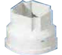 PVC U Filter-Outlet Drop for Concrete Gutter_Converter From Round to Square